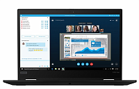 Ноутбук Lenovo Lenovo ThinkPad X390 Yoga 13.3FHD_IPS_AR_300N_MULTITOUCH I7-8565U_1.8G_4C/ 8GB_DDR4_2400 / 256GB_M.2_2280_NVME_TLC_OPAL/ INTEGRATED_GRAPHICS/ NO_DVD/ INTEL_9560_2X2AC+BT_VPRO/ NO_WWAN/ 720P_HD_CAMERA_W/MIC/ W10_PRO