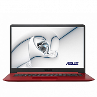 "Ноутбук ASUS ASUS X510UF-BQ758 15.6""(1920x1080 (матовый))/Intel Core i3 7020U(2.3Ghz)/4096Mb/256SSDGb/noDVD/Ext:nVidia GeForce MX130(2048Mb)/Cam/BT/WiFi/war 1y/1.8kg/Red/Linux"