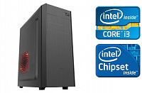 ПК Intel Core i3 330/ 8Gb / SSD 120Gb + 1  Tb 7.2k / Dos