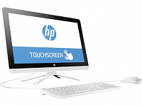 "Моноблок HP 22-b007ur 22"" Full HD Touch P J3710/8Gb/1Tb 5.4k/SSHD8Gb/HDG/DVDRW/Windows 10/GbitEth/WiFi/клавиатура/мышь/белый 1920x1080"
