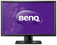 "Монитор Benq 24"" BL2411PT черный IPS LED 16:10 DVI M/M матовая HAS Pivot 300cd 1920x1200 D-Sub DisplayPort FHD"