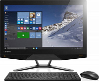 "Моноблок Lenovo 700-24ISH 23.8"" 4K i7 6700/16Gb/1Tb/SSD128Gb/GT950A 4Gb/DVDRW/Windows 10/черный 3840x2160"