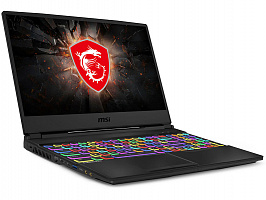 "Ноутбук MSI MSI GL65 9SCK-015RU 15.6""(1920x1080 (матовый, 120Hz) IPS)/Intel Core i5 9300H(2.4Ghz)/8192Mb/512PCISSDGb/noDVD/Ext:nVidia GeForce GTX1650(4096Mb)/Cam/BT/WiFi/41WHr/war 1y/2.3kg/black/W10"