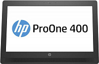 "Моноблок HP ProOne 400 G2 20"" HD+ Touch i3 6100T (3.2)/4Gb/500Gb 7.2k/HDG530/DVDRW/Windows 10 Professional 64/GbitEth/WiFi/BT/90W/клавиатура/мышь/Cam/черный/серебристый 1600x900"