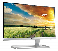 "Монитор Acer 27"" S277HKwmidpp серебристый IPS LED 16:9 DVI HDMI M/M полуматовая 300cd 178гр/178гр 3840x2160 D-Sub DisplayPort Ultra HD 5.4кг"