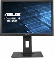 "Монитор Asus 19.45"" BE209TLB черный IPS LED 16:10 DVI M/M матовая HAS Pivot 250cd 1440x900 D-Sub HD READY USB 4.8кг"