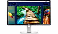 "Монитор Dell 27"" P2715Q черный IPS LED 8ms 16:9 HDMI матовая HAS 350cd 178гр/178гр 3840x2160 DisplayPort Ultra HD USB 7.53кг"