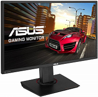 "Монитор Asus 27"" MG278Q черный TN+film LED 16:9 DVI HDMI M/M матовая HAS Pivot 350cd 2560x1440 DisplayPort QHD USB 7.65кг"