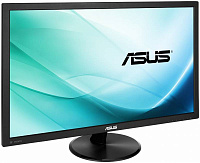 "Монитор Asus 23.6"" VP247H черный TN+film LED 16:9 DVI HDMI M/M матовая 00:1 250cd 1920x1080 D-Sub FHD 4кг"