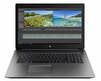 "Ноутбук HP HP ZBook 17 G6 17.3""(1920x1080)/Intel Core i7 9850H(2.6Ghz)/16384Mb/256SSDGb/noDVD/Ext:nVidia Quadro RTX3000(6144Mb)/95.6WHr/war 3y/3.2kg/black metal/W10Pro"