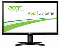 "Монитор Acer 23.8"" G247HYLbidx черный IPS LED 16:10 DVI HDMI полуматовая 250cd 1920x1200 D-Sub FHD 2.9кг"