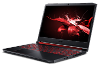 "Ноутбук Acer Acer Nitro AN515-54-71SD 15.6""(1920x1080 (матовый, 120Hz) IPS)/Intel Core i7 9750H(2.6Ghz)/8192Mb/1000+256PCISSDGb/noDVD/Ext:nVidia GeForce GTX1660Ti(6144Mb)/Cam/BT/WiFi/war 1y/2.5kg/black/W10"