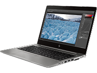 "Ноутбук HP HP Zbook 14u G6 14""(1920x1080)/Intel Core i7 8565U(1.8Ghz)/16384Mb/512SSDGb/noDVD/Ext:AMD Radeon Pro WX 3200/war 3y/1.48kg/black metal/W10Pro"