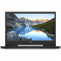 "Ноутбук Dell Dell G5-5590 15.6""(1920x1080 (матовый, 144Hz) IPS)/Intel Core i7 9750H(2.6Ghz)/16384Mb/1000+256SSDGb/noDVD/Ext:nVidia GeForce RTX2060(6144Mb)/Cam/BT/WiFi/war 1y/2.68kg/ White / Win 10 Home  + GSYNC/ Backlit"