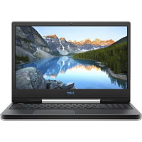 "Ноутбук Dell Dell G5-5590 15.6""(1920x1080 (матовый) IPS)/Intel Core i7 9750H(2.6Ghz)/16384Mb/1000+256SSDGb/noDVD/Ext:nVidia GeForce RTX2060(6144Mb)/Cam/BT/WiFi/war 1y/2.68kg/ White / Win 10 Home  +  Backlit"