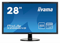 "Монитор Iiyama 28"" X2888HS-B1 черный MVA LED 5ms 16:9 DVI HDMI M/M матовая 300cd 178гр/178гр 1920x1080 D-Sub DisplayPort FHD 5.3кг"