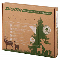 "Планшет Digma Optima 7001 A33 (1.2) 4C/RAM512Mb/ROM8Gb 7"" TFT 1024x600/WiFi/0.3Mpix/Android 4.4/темно-синий/Touch/microSDHC 32Gb/minUSB"
