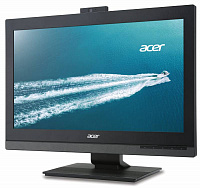 "Моноблок Acer Veriton Z4820G 23.8"" Full HD i3 6100 (3)/4Gb/500Gb 7.2k/HDG530/DVDRW/CR/Windows 10 Professional 64 dwnW7Pro64/GbitEth/90W/клавиатура/мышь/Cam/черный 1920x1080"