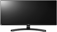 "Монитор LG 34"" 34UM68-P черный IPS LED 21:9 HDMI M/M матовая HAS 250cd 2560x1080 DisplayPort FHD 8кг"