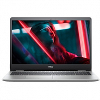"Ноутбук Dell Dell Inspiron 5593 15.6""(1920x1080 (матовый) IPS)/Intel Core i3 1005G1(1.2Ghz)/4096Mb/256SSDGb/noDVD/Int:Intel UHD Graphics 620/Cam/BT/WiFi/war 1y/1.83kg/  Silver / Win 10 Home"