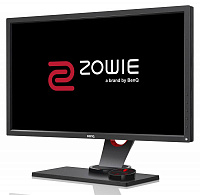 "Монитор Benq 24"" XL2430 Zowie черный TN LED 16:9 DVI HDMI 3D матовая HAS Pivot 350cd 170гр/160гр 1920x1080 D-Sub DisplayPort FHD USB 7кг"