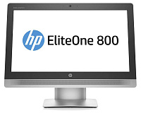 "Моноблок HP EliteOne 800 G2 23"" Full HD Touch i3 6100 (3.7)/4Gb/1Tb/HDG530/DVDRW/Windows 10 Professional 64/GbitEth/WiFi/BT/клавиатура/мышь/Cam/черный/серебристый 1920x1080"