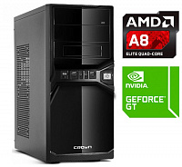 ПК AMD A8 (3.1) / 4Gb / 1 000 Gb 7.2k /nVidia GeForce GT 730