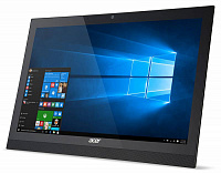 "Моноблок Acer Aspire Z1-622 21.5"" Full HD P N3710 (1.6)/2Gb/500Gb/HDG/DVDRW/CR/Windows 10 Single Language/Eth/WiFi/BT/клавиатура/мышь/Cam/черный 1920x1080"