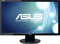 "Монитор Asus 24"" VE248HR черный TN+film LED 16:9 DVI HDMI M/M матовая 250cd 1920x1080 D-Sub FHD 4.4кг"
