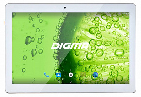 "Планшет Digma Optima 1507 3G MT8321 (1.3) 4C/RAM1Gb/ROM8Gb 10.1"" IPS 1280x800/3G/Android 5.1/белый/2Mpix/0.3Mpix/BT/GPS/WiFi/Touch/microSD 64Gb/minUSB/5000mAh"