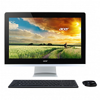 "Моноблок Acer Aspire Z3-715 23.8"" Full HD i5 6400T (2.2)/8Gb/2Tb/GF940 2Gb/DVDRW/Windows 10 Single Language/Eth/WiFi/BT/Spk/клавиатура/мышь/Cam/черный 1920x1080"