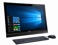 "Моноблок Acer Aspire Z1-622 21.5"" Full HD P J3710 (1.6)/4Gb/1Tb 5.4k/HDG405/DVDRW/CR/Windows 10 Home 64/Eth/WiFi/BT/65W/клавиатура/мышь/Cam/черный 1920x1080"