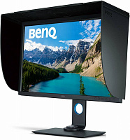 "Монитор Benq 31.5"" SW320 черный IPS LED 5ms 16:9 DVI HDMI матовая 350cd 178гр/178гр 3840x2160 DisplayPort FHD USB"