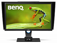 "Монитор Benq 27"" SW2700PT черный IPS LED 16:9 DVI HDMI матовая HAS Pivot 350cd 2560x1440 DisplayPort QHD USB"