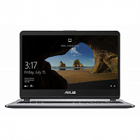 "Ноутбук ASUS ASUS X507UF-EJ474T 15.6""(1920x1080 (матовый))/Intel Core i3 7020U(2.3Ghz)/4096Mb/500Gb/noDVD/Ext:nVidia GeForce MX130(2048Mb)/Cam/BT/WiFi/war 1y/1.68kg/grey/W10"