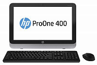 "Моноблок HP ProOne 400 G1 19.5"" Full HD i5 4590T (2)/4Gb/1Tb 7.2k/HDG4600/DVDRW/CR/Free DOS/Eth/WiFi/BT/клавиатура/мышь/Cam/черный/серебристый 1600x900"
