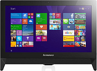 "Моноблок Lenovo C20-00 19.5"" Full HD Cel N3050 (1.6)/4Gb/500Gb 7.2k/HDG/DVDRW/CR/Free DOS/Eth/WiFi/клавиатура/мышь/Cam/черный 1920x1080"