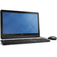 "Моноблок Dell Inspiron 20 3052 19.5"" HD+ P N3700 (1.6)/2Gb/500Gb 5.4k/HDG/CR/Windows 10 Home 64/GbitEth/WiFi/BT/клавиатура/мышь/черный 1600x900"