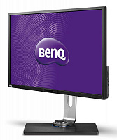 "Монитор Benq 32"" BL3200PT черный VA LED 12ms 16:9 DVI HDMI M/M матовая HAS Pivot 300cd 178гр/178гр 2560x1440 D-Sub DisplayPort HDTV USB 13кг"