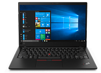 Ноутбук Lenovo Lenovo ThinkPad  X1 Carbon 7th Gen 14.0FHD_IPS_AG_400N_LP/ CORE_I7-8565U_1.8G_4C_MB/ 16GB(4X32GBX32)_LPDDR3_2133/ 512GB_QLC+32GB_OPTANE_M.2_2280/ / INTEGRATED_GRAPHICS/ IR&HD_CAMERA_W/MIC/ KYB_RUS/ / W10_PRO/ BLACK