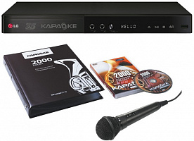 Плеер Blu-Ray LG BKS-2000 черный Karaoke 1080p Smart-TV 1xUSB2.0 1xHDMI Eth
