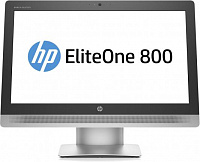 "Моноблок HP EliteOne 800 G2 23"" Full HD i3 6100 (3.7)/4Gb/500Gb 7.2k/HDG530/DVDRW/Free DOS/Eth/WiFi/BT/клавиатура/мышь/Cam/черный/серебристый 1920x1080"