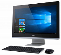 "Моноблок Acer Aspire Z3-715 23.8"" Full HD i5 6400T (1.6)/4Gb/1Tb/GF940/DVDRW/Windows 10 Single Language/Eth/WiFi/BT/клавиатура/мышь/Cam/черный 1920x1080"