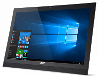 "Моноблок Acer Aspire Z1-622 21.5"" Full HD P J3710 (1.6)/4Gb/1Tb/GF920 2Gb/DVDRW/Free DOS/Eth/WiFi/BT/клавиатура/мышь/Cam/черный 1920x1080"