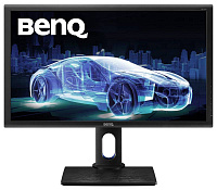 "Монитор Benq 27"" PD2700Q черный IPS LED 12ms 16:9 HDMI M/M HAS Pivot 350cd 2560x1440 DisplayPort QHD USB 6.9кг"