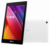 "ASUS Z170CG-1B019A 7""(1024x600 IPS)/Intel Atom x3-C3230(1.2Ghz)/1024Mb/16Gb/noDVD/Cam/BT/WiFi/3G/war 1y/0.27kg/white/Android 5.0"