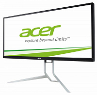 "Монитор Acer 34"" BX340CKBMIJPHZX черный IPS LED 6ms 21:9 HDMI M/M матовая HAS 320cd 3440x1440 DisplayPort QHD USB 9.2кг"