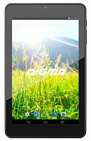 "Планшет Digma Optima 7307D A33 (1.3) 4C/RAM512Mb/ROM8Gb 7"" IPS 1280x800/Android 4.4/черный/0.3Mpix/WiFi/Touch/microSDHC 32Gb/minUSB/2500mAh"