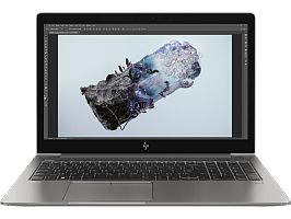 "Ноутбук HP HP ZBook 15U G6 15.6""(1920x1080)/Intel Core i7 8565U(1.8Ghz)/8192Mb/256SSDGb/noDVD/Ext:AMD Radeon Pro WX3200/46WHr/war 3y/1.77kg/black metal/W10Pro"