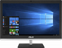 "Моноблок Asus V220ICUK-BC009X 21.5"" Full HD i3 6100 (2.3)/4Gb/1Tb/HDG520/DVDRW/CR/Windows 10 64/GbitEth/WiFi/BT/клавиатура/мышь/Cam/черный 1920x1080"
